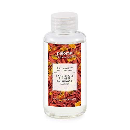 pajoma Raumduft Nachfüllflasche 100ml Duftöl für Diffuser Duft wählbar (Sandelholz und Amber)