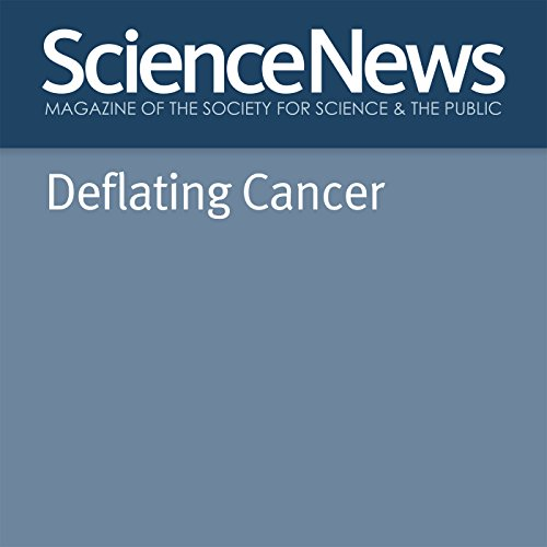 Deflating Cancer audiobook cover art