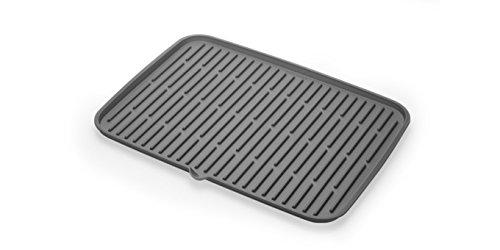 Tescoma ESCURRIDOR Silicona 42X30CM Clean Kit, Negro, 46.2 x 31 x 2 cm