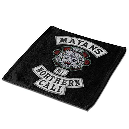 Waschlappen von Ma-Yans M-C, starke Haltbarkeit, für Küche, Bad, Strand, Schule, Büro, Outdoor, Reisen, Tourismus, Picknick, Party, 2 Stück