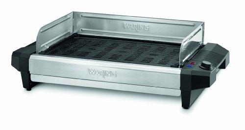 Waring Pro CIG100 Professional 1800-Watt Cast-Iron Grill