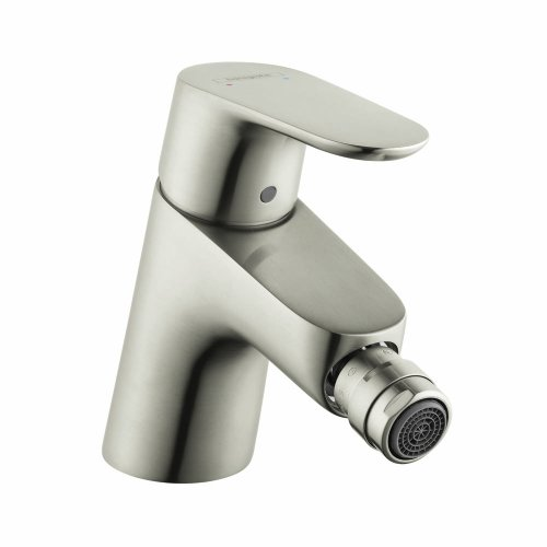 hansgrohe 31920821 Focus 5-inch Tall 1 Bidet Faucet in Brushed Nickel
