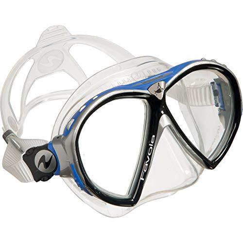 Aqua Lung Favola Scuba Diving Mask Black/Blue/Silver