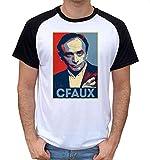 Artist Deluxe T-Shirt Fun Bi-Colore - Zemmour C'est Faux Propagande