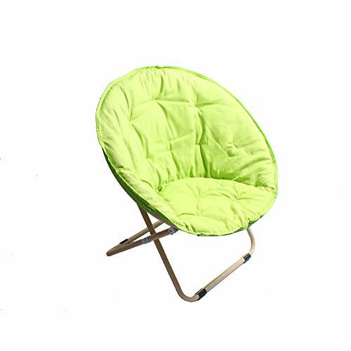 Klapstoelen, rug, tuinstoelen, verleggen, zacht en comfortabel, draagbaar. Groen