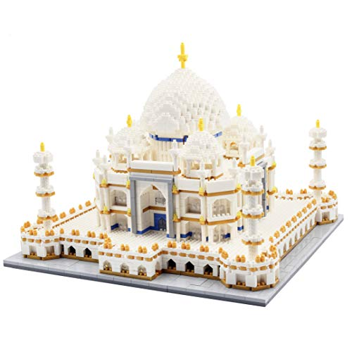 dOvOb Micro Mini Blocks Taj Mahal Building and Architecture Model Set,(4000Pieces) Toys Gifts for...