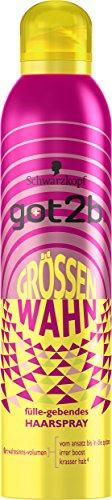 Schwarzkopf Got2b Grössenwahn Füllegebendes Haarspray, 3er Pack (3 x 300 ml)