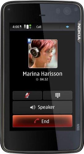 Preisvergleich Produktbild Nokia N900 Smartphone (UMTS,  WLAN,  GPS,  Maemo,  5 MP,  QWERTZ-Tastatur) black
