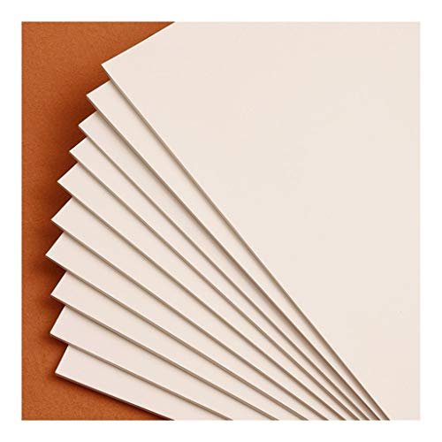 HMEI cuadernos en blanco, protector de ojos beige, blocs de notas, libros sin forro, 10 almohadillas con 40 hojas en cada bloc (10,1 x 7,8 pulgadas) para el trabajo