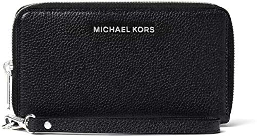 MICHAEL Michael Kors Large Flat Multifunction Phone Case Black One Size