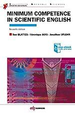 Minimum competence in scientific english de Sue Blattès
