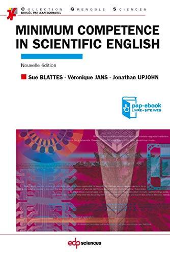 Minimum competence in scientific english
