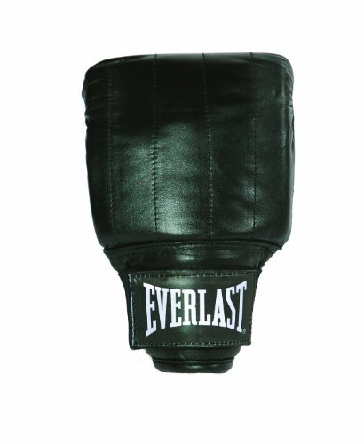 Everlast Leather PRO Guanti da Sacco Boxe, L, Nero