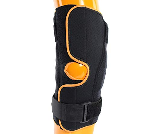 Armor - Kniebandage aus Neopren mit Patellarring. Frontöffnung. Einfache Anwendung auch für ältere, übergewichtige und postoperative Patienten
