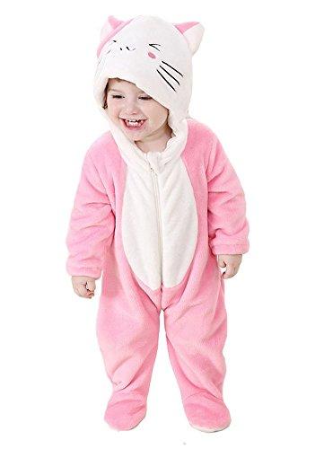 """Bonito disfraz de animal Tonwhar para bebés, unisex Gatitos Talla:70(Height:22""""-26""""/ages 0-6 months)"""