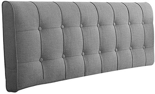 Bavpelp - Kissenbezüge in 3# Grey With Headboard, Größe 200CM