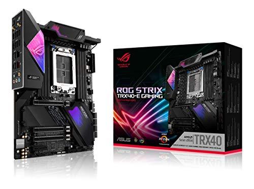 Asus ROG Strix TRX40-E Gaming AMD 3rd Gen AMD Ryzen Threadripper sTR4 ATX Motherboard- 16...
