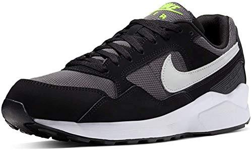 Nike Air Pegasus '92 Lite, Zapatillas de Running Hombre, Nero Black Pure Platinum Grey Electric G 006, 41 EU