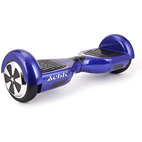 ACBK - Hoverboard Patinete Eléctrico Autoequilibrio con Ruedas de 6.5
