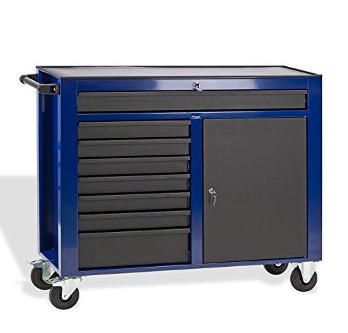 DEMA Werkstattwagen DW8ST blau/schwarz