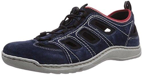 Josef Seibel Herren Milo 03 Sneakers, Blau (949 795 jeans/schwarz), 44 EU