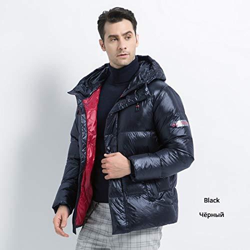 DPKDBN donsjack voor heren, stijlvol donsjack voor heren, dikke warme mantel