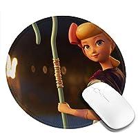 ウッディの友達25 マウスパッド 円形 おしゃれ 高級感 ゲーミング オフィス最適 滑り止めゴム底 耐久性が良 付着力が強い 直径20cmx厚い0.3cm