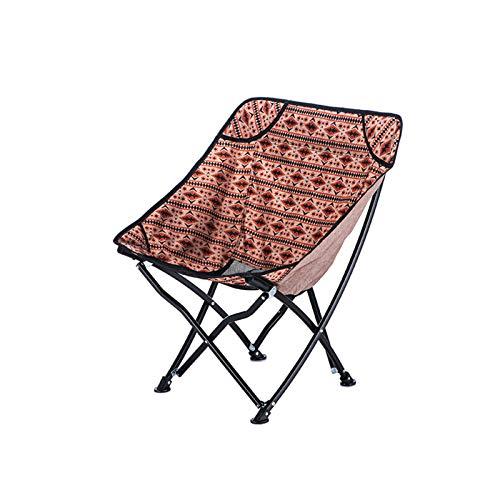 CJSWT Sillas de Mochila Camping Plegable compactas Ligeras, portátiles, respiradoras cómodas, Actividades al Aire Libre, Camping, Senderismo, Picnic,A