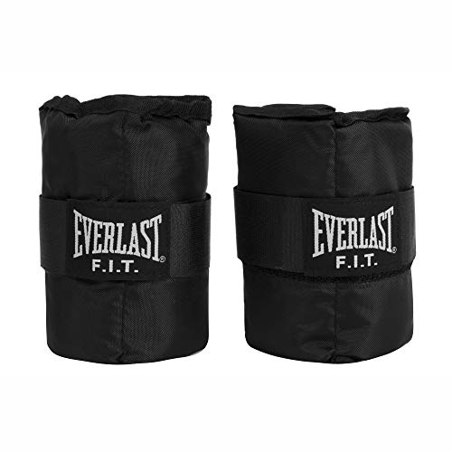 Everlast Wrist/Ankle Weights 5 lb (2.5 lbs Each) - Black