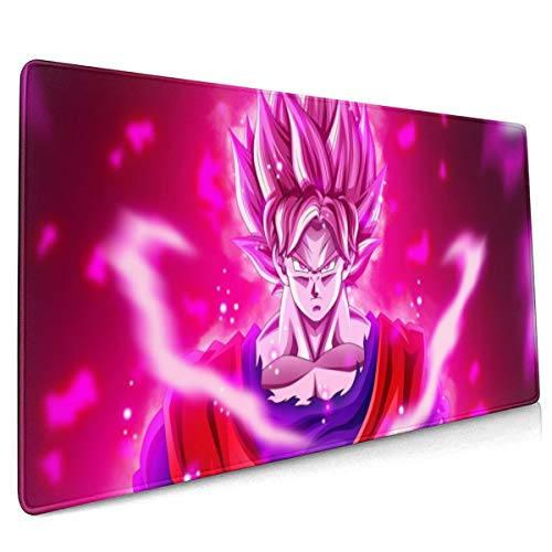 Extended Mouse Pad - Goku Power Dragon Ball XXL Gaming Computer Mousepad 35.43 X 15.75 X 0.12inch