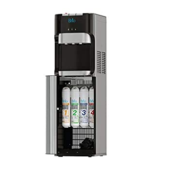 Brio Commercial Grade Bottleless Ultra Safe Reverse Osmosis Drinking Water Filter Water Cooler Dispenser-3 Temperature Settings Hot Cold & Room Water - UL/Energy Star Approved – Point of Use