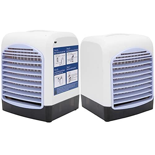 Enfriador De Aire, Ventilador De Enfriamiento De Aire Suministro De Aire De ángulo Amplio De 60 Grados para Proporcionar Un Mejor Aire Y Disfrutar del Verano Fresco