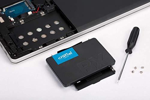 『【Amazon.co.jp 限定】 Crucial SSD 240GB 7mm / 2.5インチ BX500シリーズ SATA3.0 3年保証【PlayStation4 動作確認済】 正規代理店保証品 CT240BX500SSD1Z [FFP]』の5枚目の画像