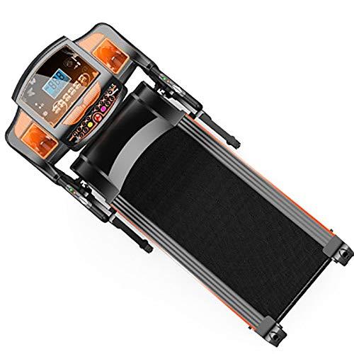 Caminadora Electrica,Mini Andador Portátil Equipo multifunción cinta de correr la pérdida de peso aptitud que dobla el pequeño gimnasia de la aptitud especial cinta de correr ( Color : Orange )