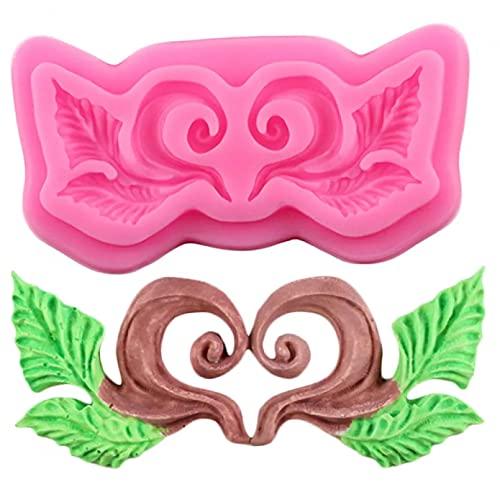 AAKK Molde De Pastel Forma De Relieve Europeo 3D Craft Relief Chocolate Confitería Molde De Silicona Fondant Cake Decoración De Cocina Herramientas De Bricolaje