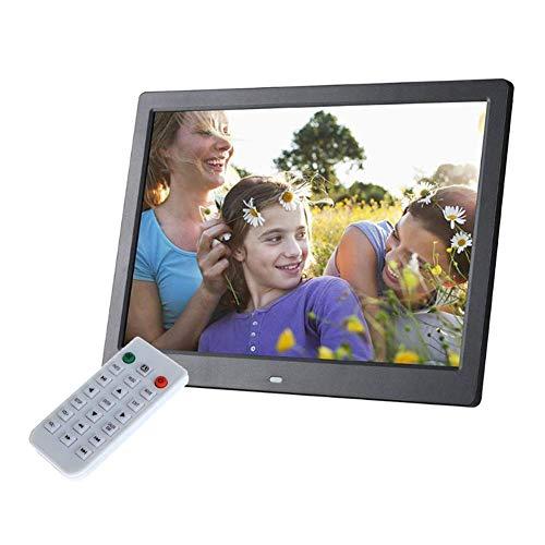 Marco de fotos digital 15 pulgadas 1280 & times; 800 HD LED Reproductor de MP3 / MP4 Máquina de publicidad multifunción con control remoto para SD, USB Varios modos de visualización con función de r