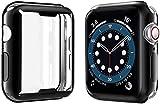 Yolin [2-Pack] Protection d'écran intégrale en TPU compatible avec Apple Watch Series 6/SE/Series 5/Series 4 44 mm Coque de...