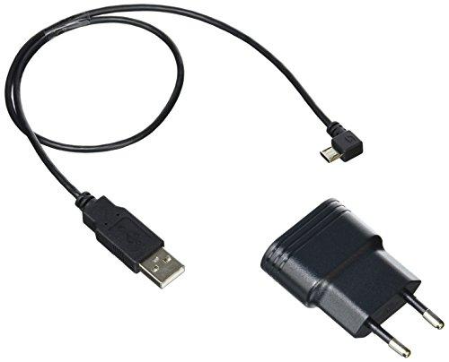 Sigma Beleuchtung Ladegerät plus Micro Usb Ladekabel Speedster/Stereo Zubehör, Schwarz, One Size