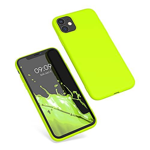 kwmobile Hülle kompatibel mit Apple iPhone 11 - Handyhülle - Handy Hülle in Neon Gelb