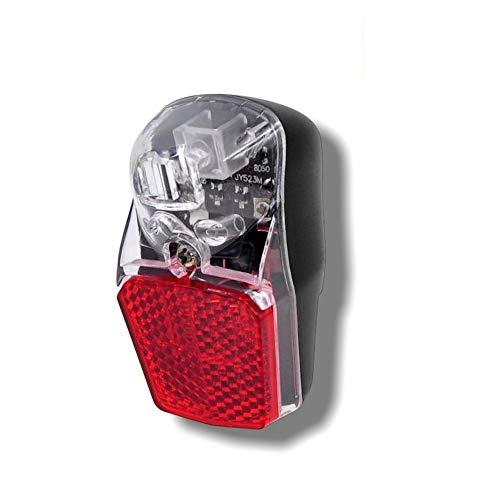 Fahrrad LED Dynamo-Rücklicht mit StVZO-Zulassung | Rückleuchte | Fahrradlicht | Fahrradbeleuchtung | Fahrradlampe mit Standlicht