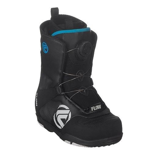 Kinder Snowboard Boots Flow Rival - Jr. Boa 10/11 youth black 1.0