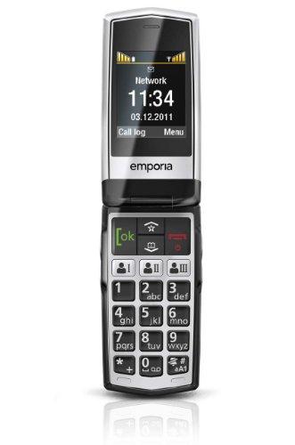 EMPORIA Click schwarz Handy