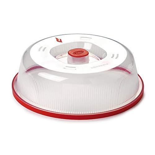 Snips CAMPANA per microonde, finitura rossa, diametro 26 cm