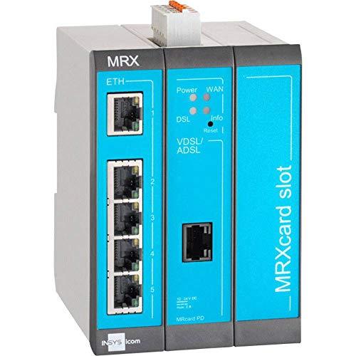 Insys MRX-3 DSL (Annex J/B) Modularer DSL-Router Ethernet, RS 485, RS 232 12 V/DC, 24 V/DC