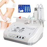 Denshine 4 In 1 Microcurrent Diamond Micro Dermabrasion Skin Scrubber Machine Removes Skin Debris Wrinkle Beauty Salon Spa Device Skin Care Lift - US Shipping