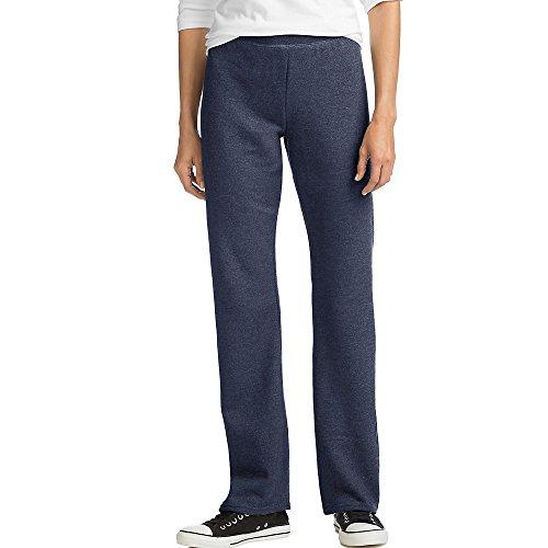 Hanes ComfortSoft EcoSmart - Pantalones de forro polar para mujer