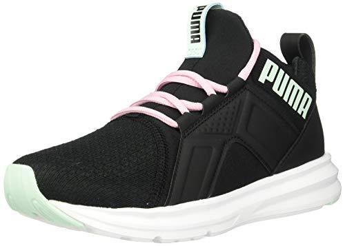 PUMA Women's ZENVO Sneaker, Blackfair Aqua, 8.5 M US