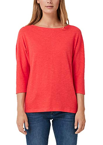 s.Oliver Damen 04.899.39.5351 T-Shirt, Rot (Coral 3214), 38