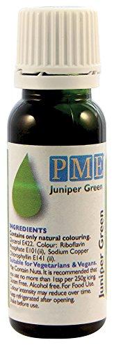 PME - Colorante Alimentare 100% Naturale - Verde, 25 g