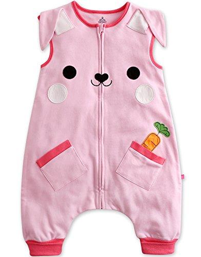 [Livraison Gratuite] Vaenait pour bébé 1–7 Ans 100% Coton Enfants en Veille et Éveil Sleepsack Animal - - Large